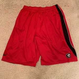 Nike University of Georgia Basketball Shorts